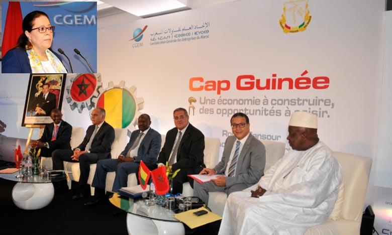La présidente de la CGEM a invité les opérateurs économiques à être à la hauteur de la confiance, dans le secteur privé pour promouvoir davantage la coopération entre les deux pays. Ph : DR
