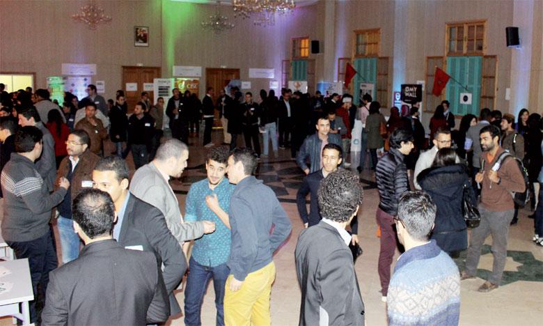 La rencontre a réuni plus de 300 participants et plus de 35 startups.