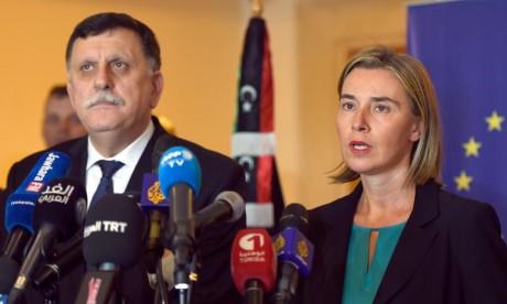L'UE fait pression pour le plan de paix en Libye