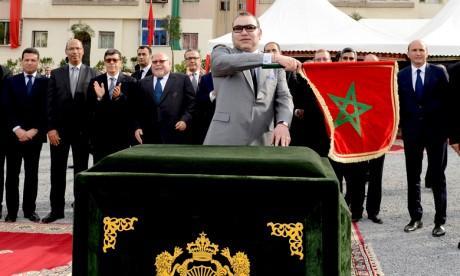 Sa Majesté le Roi Mohammed VI lance de grands projets structurants de transport et de voirie, d'une valeur de plus de 8,5 milliards de DH