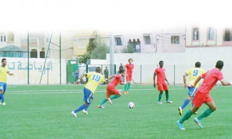 Oued Zem (Sud) et Taounate (Nord) champions d'automne