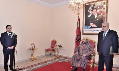 S.M. le Roi nomme Nasser Bourita ministre délégué auprès du ministre des Affaires étrangères et de la coopération