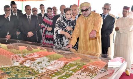 Deux milliards de DH pour accompagner la réalisation du projet de complexe industriel intégré de production d'engrais à Phosboucraâ