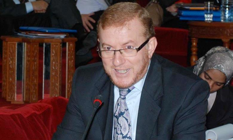 Mohamed Najib Boulif, ministre délégué auprès du ministre de l'Equipement, du Transport et de la Logistique, chargé du Transport. Ph : Hihi