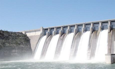Le taux de remplissage des barrages est passé de 74,2 à 62,2% en un an