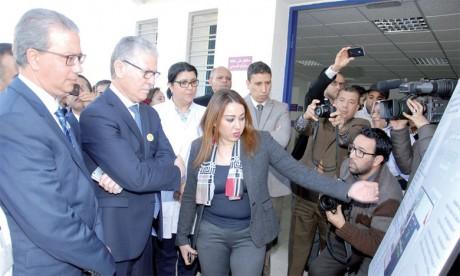 Inauguration de services hospitaliers de Casablanca