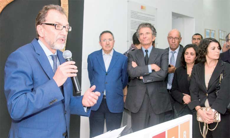 L'inauguration du Musée a eu lieu en présence de ministre de la Culture, Mohamed Amine Sbihi, et du directeur de l'IMA, Jack Lang.