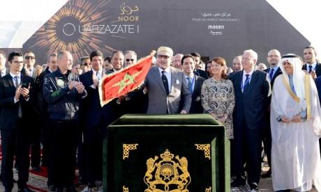 Les projets feront de Noor Ouarzazate le plus grand site de production solaire multitechnologique au monde avec une capacité de 580 MW et un investissement total supérieur à 24 milliards de DH