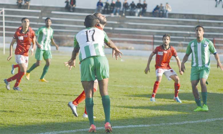 Sidi Kacem profite du faux pas  de Taounate, Oued Zem s'accroche