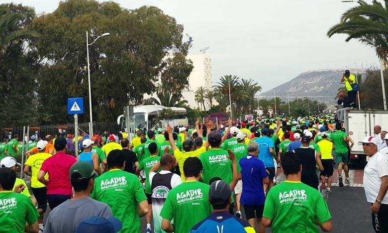 L'environnement. Le Marathon Vert d'Agadir connaîtra la participation d'athlètes de renommée internationale, issus d'une vingtaine de pays, aux côtés de milliers d'autres passionnés. Ph : agadirmarathon.com