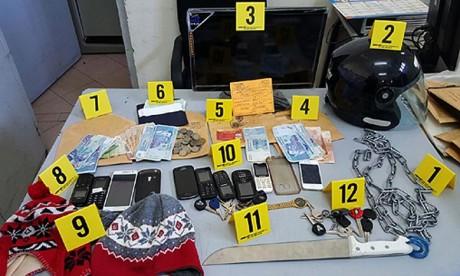 Démantèlement à Agadir d'un réseau criminel