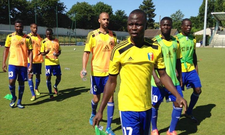 L'équipe à Saint-Leu-la-Forêt. Le Tchad ne prendra pas part au match retour contre la Tanzanie dans le cadre de la 4e journée des éliminatoires de la CAN 2017. Ph : afriquefoot.rfi.fr