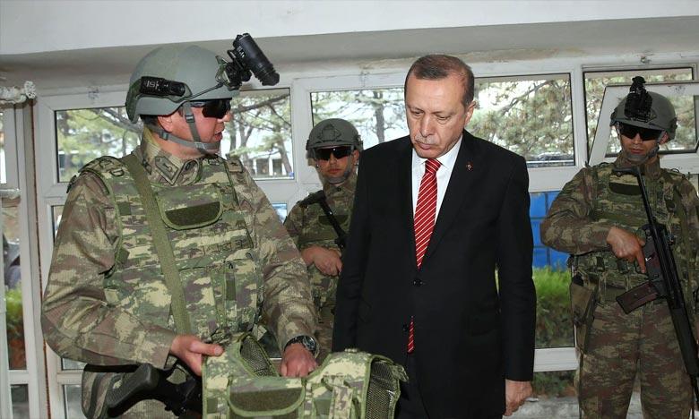 «La discipline, l'obéissance inconditionnelle et une seule ligne de commandent sont à la base des forces armées turques», a affirmé l'état-major des armées. Ph : AFP