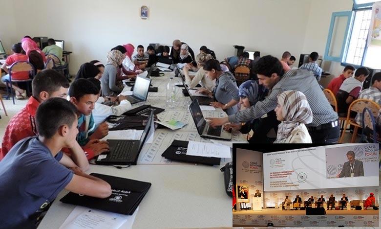 Les débats ont porté sur l'expérience marocaine qui est très riche dans le domaine des technologies de l'information ainsi que sur les progrès que le Maroc a réalisés dans le domaine de l'électrification. Ph : DR