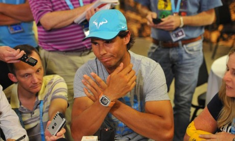 Le Real Madrid soutient Nadal