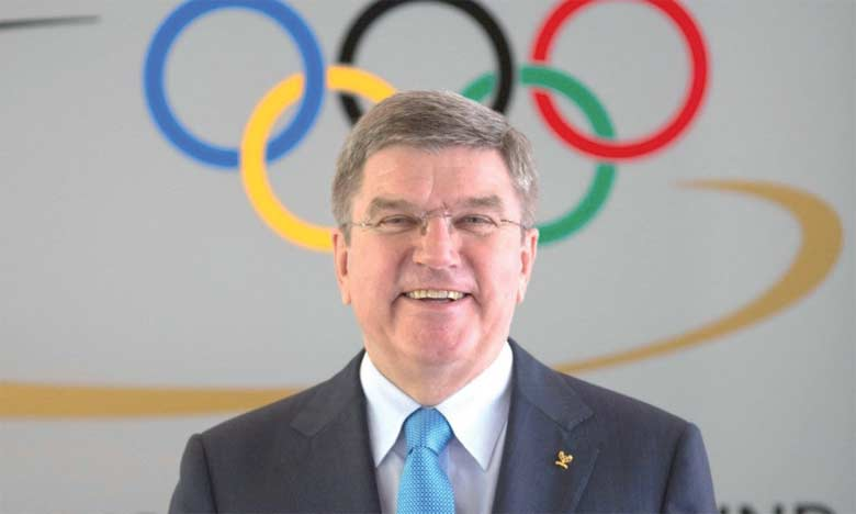 Thomas Bach, président du Comité international olympique.