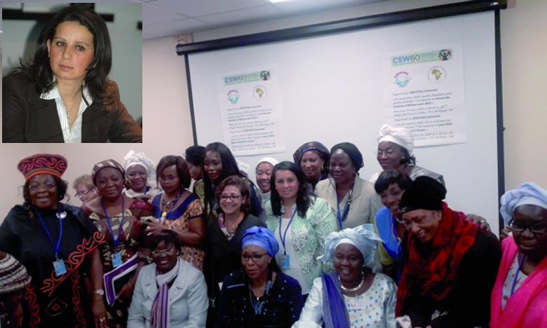 Nouvel horizon pour promouvoir les droits des femmes. Oumayma Achour est une militante associative active dans le domaine de la lutte pour les droits des femmes et de l'égalité entre les sexes. Ph : telegramme.info