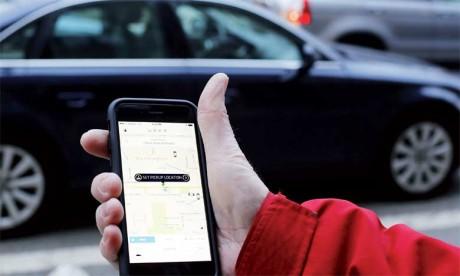 Uber argumente qu'aux États-Unis près de 90% de ses chauffeurs apprécient la flexibilité et l'autonomie que leur assure le statut de travailleurs indépendants.                                                                                    Ph. AFP