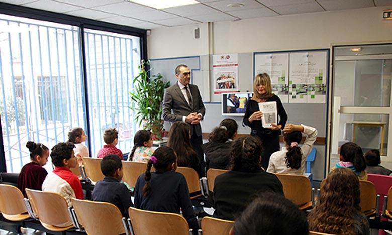 La  journée au consulat du Maroc à Paris permettra aux enfants de s'exprimer par l'art, rempart contre toutes les formes d'extrémisme et de radicalisme, d'accepter l'Autre et de faire leurs les valeurs de tolérance et d'ouverture. Ph : MAP