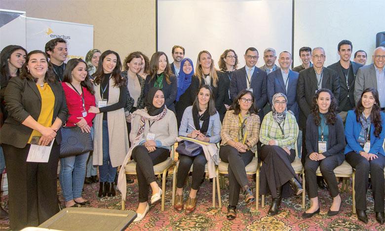 Une cinquantaine d'acteurs de l'écosystème entrepreneurial ont pris part à la première édition du «Enactus Partnership Summit».