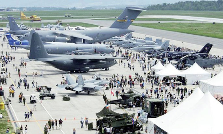 L'évènement est organisé à la base militaire de Marrakech avec le support  et la mobilisation des Forces Royales Air.