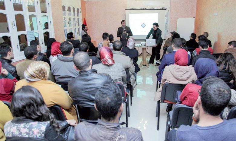 Le coup d'envoi du programme a été donné en présence d'entrepreneurs et aspirants entrepreneurs  de la ville, venus découvrir leur nouvel espace de rencontre.