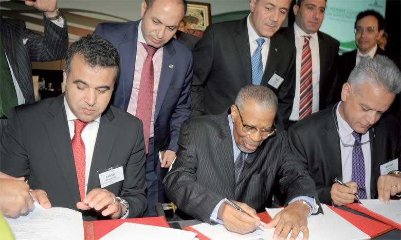 La convention de partenariat a été paraphée par Ahmad Mohamed Ali Al Madani, président de la BID, et Ahmed Baroudi, directeur général de la SIE,  en marge du Forum de l'investissement souverain organisé par la BID du 11 au 13 avril à Rabat.