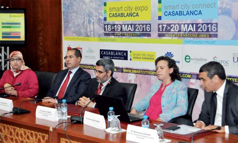 La présentation de l'événement s'est déroulée en présence de Khalid Safir, wali de la région Casablanca-Settat.