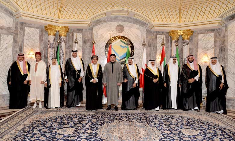 S.M. le Roi souligne que le partenariat Maroc-Pays du Golfe puise sa force dans  la foi sincère en la communauté de destin et la concordance des vues