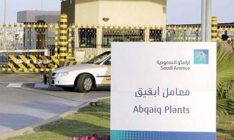 Saudi Aramco, pilier économique du royaume qui contrôle des réserves prouvées de plus de 261  milliards de barils et emploie plus de 61.000 personnes.                                                                                 Ph. AFP