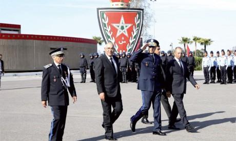 Commémoration à l'Institut royal de police de Kénitra du 60e anniversaire de la création de la Sûreté nationale