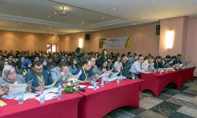 La saison des compétitions Enactus Morocco fait partie d'un process qui s'étale sur toute l'année  académique.