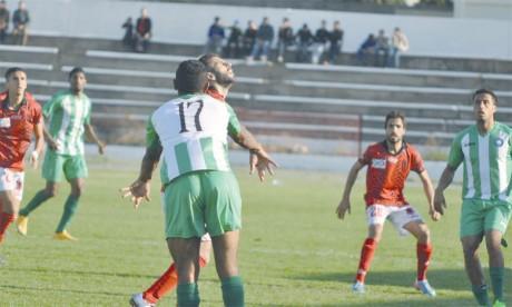 L'Union de Sidi Kacem en seconde division