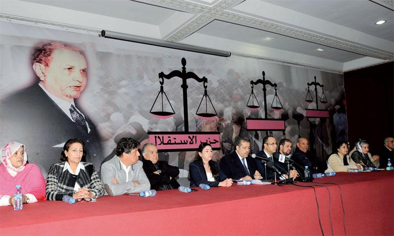 Le parti de l'Istiqlal est en train de mettre la dernière main au projet de son programme électoral.