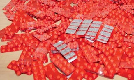 Saisie de plus de 100.000 comprimés à Nador