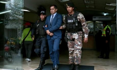 L'ex-coordinateur de l'équipe équatorienne privé de liberté