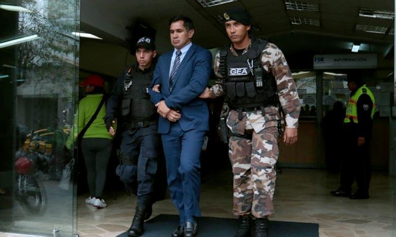 L'ex-coordinateur de l'équipe nationale de football, Vinicio Luna, a été condamné à un an de prison par la justice équatorienne, pour blanchiment d'actifs.  Ph : expreso.ec
