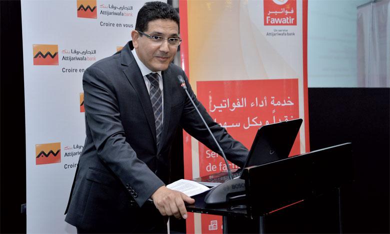 «C'est une nouvelle solution technologique, à laquelle toute entreprise émettant des factures pour se connecter pour diffuser ses créances», a souligné le directeur général adjoint du groupe Attijariwafa bank, en charge de la Banque transactionnelle,