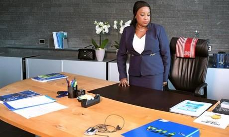 La nouvelle secrétaire générale Fatma Samoura prend fonction