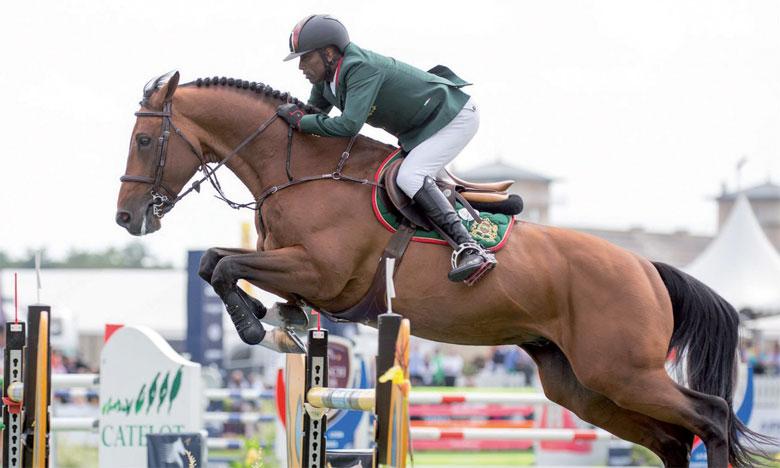 Ouddar est le premier cavalier marocain à s'être qualifié au concours du saut d'obstacles aux JO.