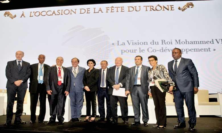 La conférence internationale s'est ouverte en présence d'éminentes personnalités nationales et internationales, dont des ministres et des députés. Ph. Saouri