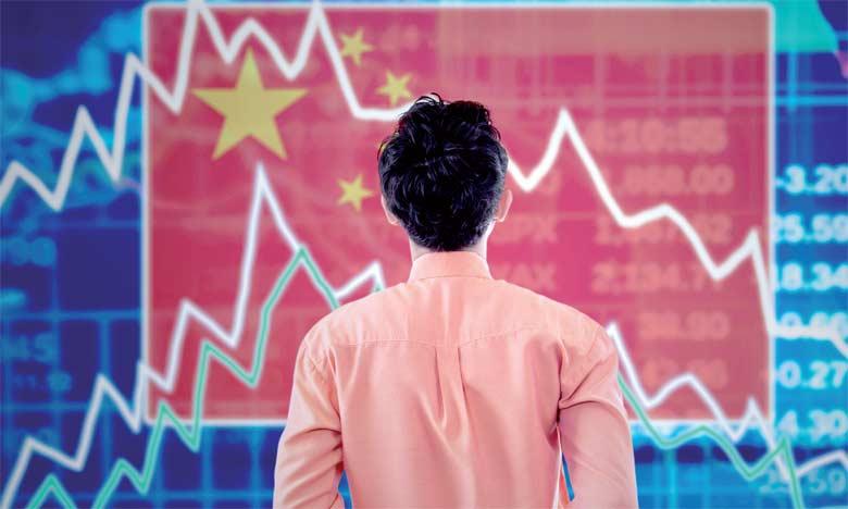 Selon la prévision médiane d'un panel de 17 analystes, la Chine a vu la croissance de son PIB ralentir  à 6,6% sur le trimestre allant d'avril à juin, après +6,7% au trimestre précédent.