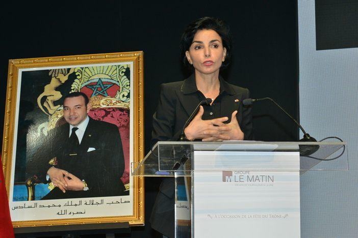 Rachida Dati, députée européenne, ancienne ministre française de la Justice