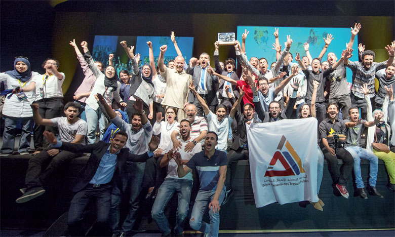 Enactus EHTP a damé le pion aux équipes de la FST de Mohammedia, de l'ENSAM Casablanca et de la FSJES Aïn Chock de Casablanca.