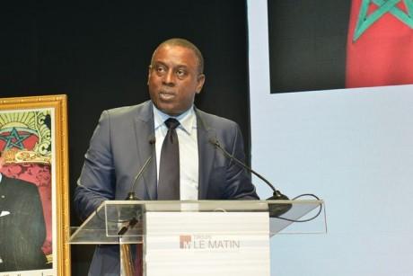 Cheikh Tidiane Gadio, président de l'Institut panafricain de stratégies, envoyé spécial de l'OCI en Afrique, ancien ministre sénégalais des Affaires étrangères