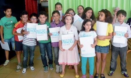 Quarante-deux enfants  de la médina reçoivent leur DELF