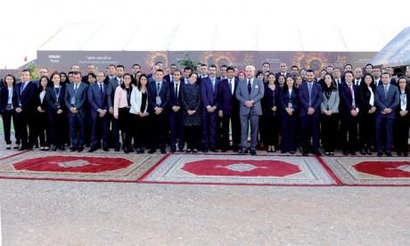4 février 2016 : S.M. le Roi Mohammed VI préside, la cérémonie de mise en service de la première centrale du complexe solaire «Noor-Ouarzazate», baptisée «Noor I», et procède au lancement officiel des travaux de réalisation des deuxième et troisième