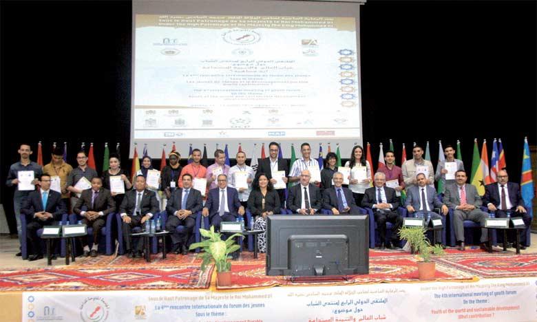 Les jeunes du monde lancent l'appel de Dakhla pour le développement durable