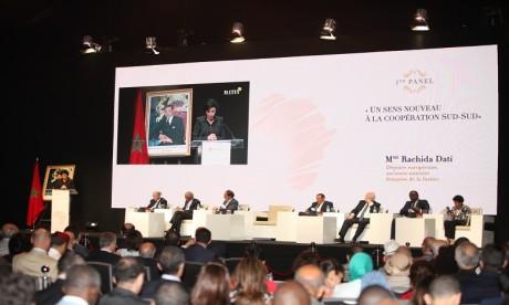 Le panel d'ouverture, intitulé «Un sens nouveau à la coopération Sud-Sud» a été animé par d'éminentes personnalités. Ph. Saouri