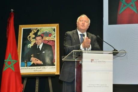 Miguel Angel Moratinos, ancien ministre des Affaires étrangères de l'Espagne